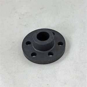 Splined steering hub