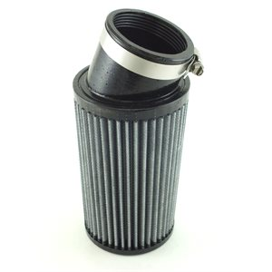 "Air filter, 3-1 / 2"" x 6"" (2-7 / 16"" ID) angled"
