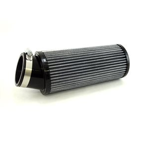 "Air filter, 3-1 / 2"" x 8"" (2-7 / 16"" ID) angled"