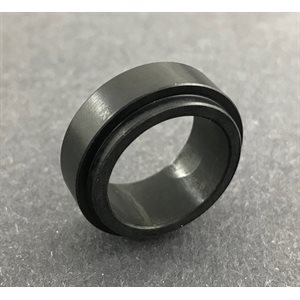 Spindle spacer - black, 17mm (10 mm)