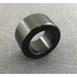 "Spindle spacer, 5 / 8"" (1 / 2"") black aluminum"