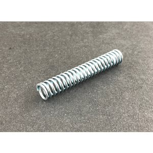 Throttle rod spring
