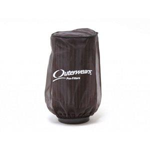 "Outerwears Prefilter, 3"" x 3"" (Black)"