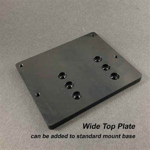 Motor mount top plate only - Wide
