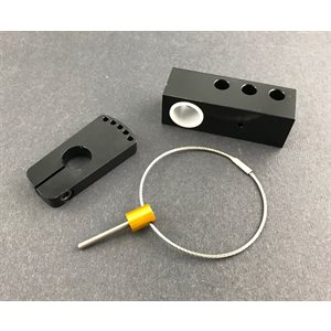 "Steering shaft block (5 / 8"") & lock kit"