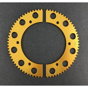 Pit Parts split sprocket (#219 chain)