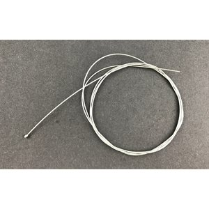 "Throttle cable 72"" (1.8 mm dia.), barrel end"