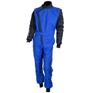 Zamp ZK-40 Adult Kart Race Suit Blue / Black