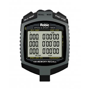 Robic SC-889 180 dual memory stopwatch