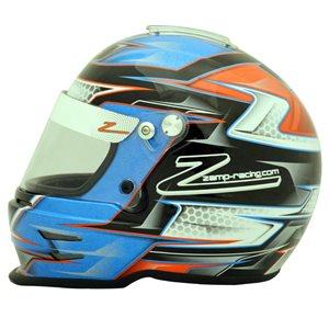 Zamp RZ-42Y Youth Helmet - Blue / Orange Graphic