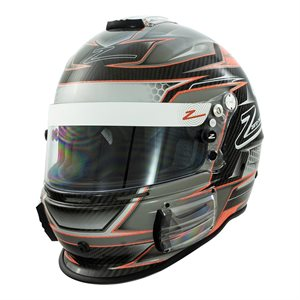 Zamp RZ-44CE Carbon Orange (FIA / SA2015)