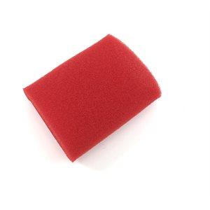 "Prefilter, foam 3"" x 5"" (red)"