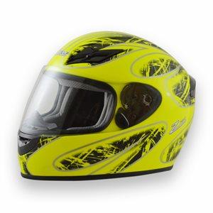 Zamp FS8 Helmet - Green / Black Graphic