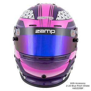 Zamp RZ-62 - Pink / Purple Graphic